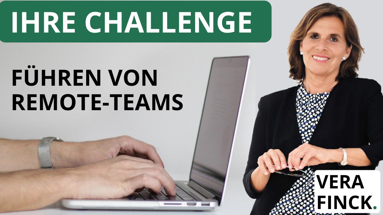 Challenge auf linkedin: Führen von Teams im Remote – und wie Sie dabei Ihre persönliche Wirkung steigern.